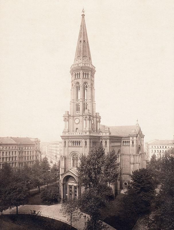 Zionskirche 1910 (Zionsarchiv)