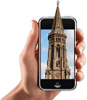 Die Glocken der Zionskirche als Klingelton auf Ihrem Handy