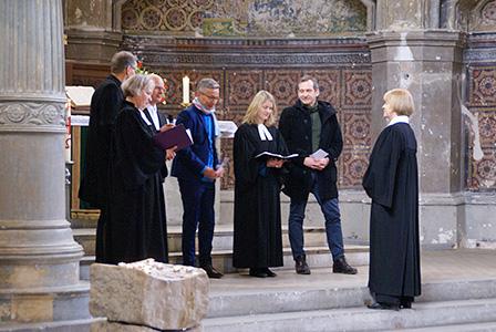 Abschied Pfarrerin Menard