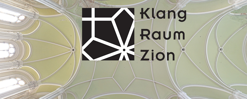 Klang Raum Zion: Logo mit Gewoelbe