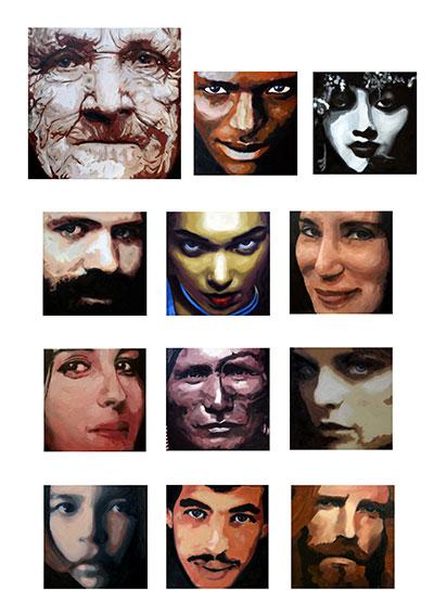 Gemälde Can Henne