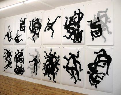 """""""Schatten"""" von von Ute Vauk-Ogawa"""