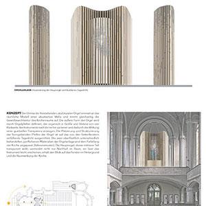 Präsentation: Entwürfe zur Orgelgestaltung 29.3.-30.4.2019