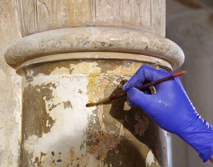 Restaurierung in der Zionskirche