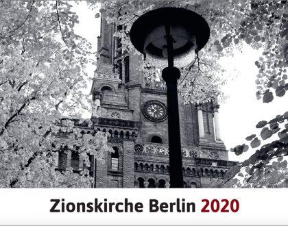 Der neue Zion-Kalender für 2020
